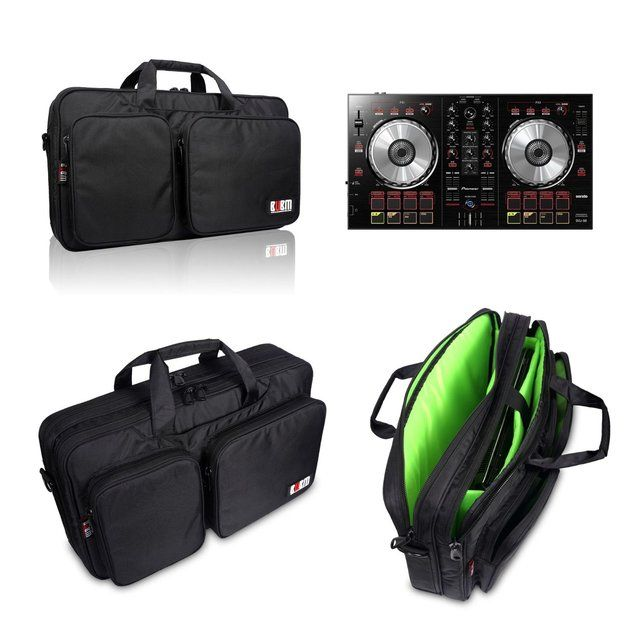 Professional Shockproof Carrying Camera Case for for Travel For Pioneer DDJ SB iPhone Samsung LG Cable Charger DJ Controller