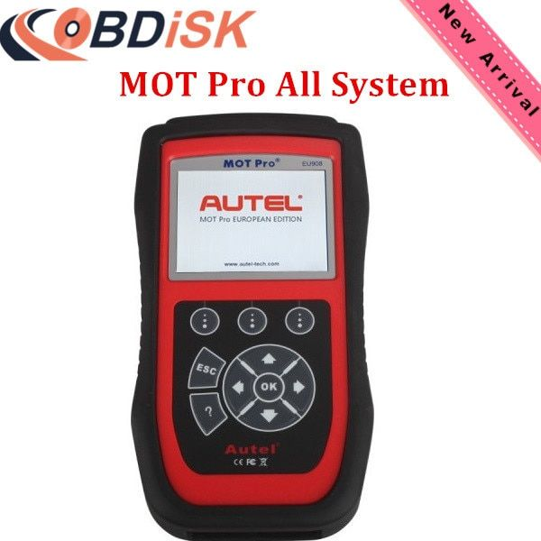 New Arrival Original Autel MOT Pro EU908 All System Diangostics with EPB/Oil Reset/DPF/SAS Multi Function Scanner Free Update