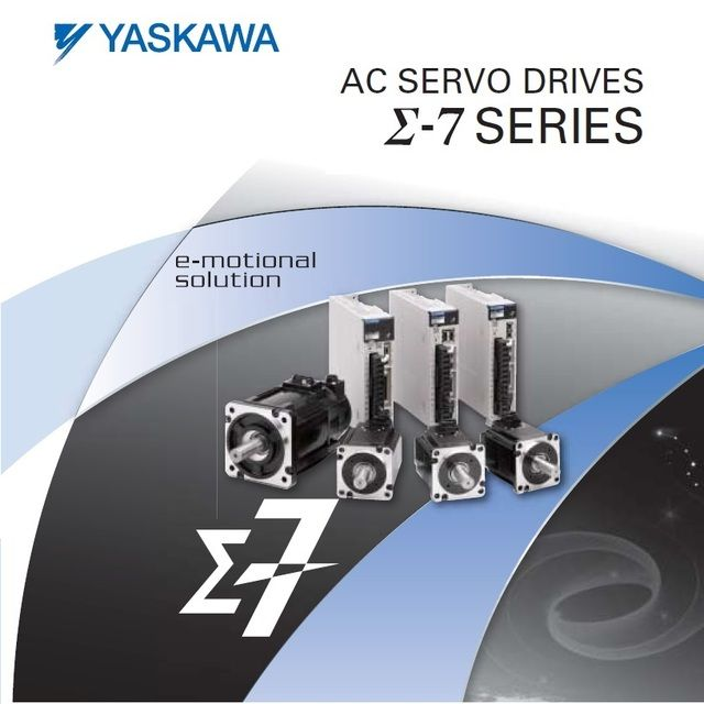 New and original Yaskawa SGM7J series servo set with absolute encoder with brake 100W SGM7J-01A7C6E+SGD7S-R90A00A