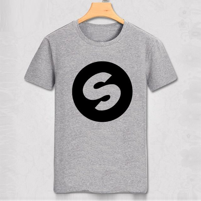 DJ Arno Cost Spinnin Records Music Festival Band World  High Quality Casual Pure Color T-shirt  Men Slim T Shirt Party Top Tee