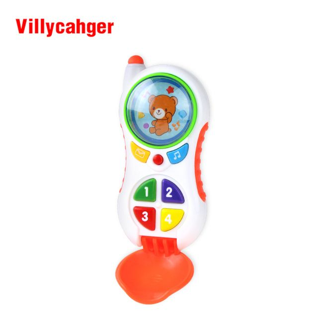 baby toys with sound and light / Learning Study Baby cell phone toy /  Child music phone  Educational toy