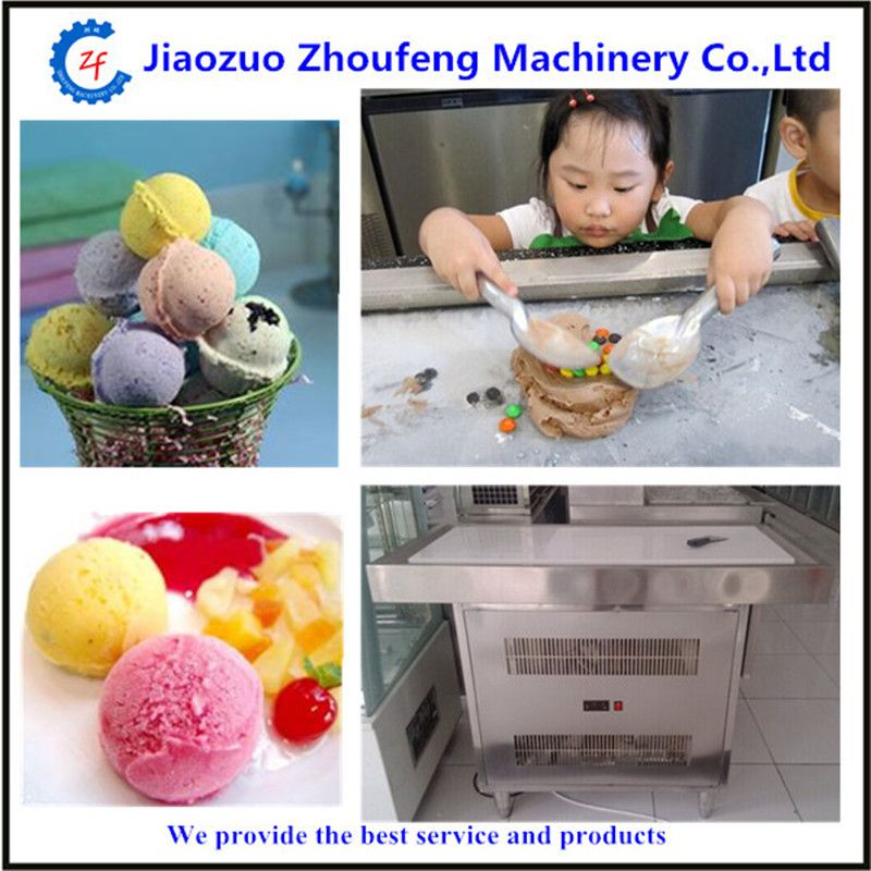 Marble fried ice cream machine cool summer rolled icecream maker