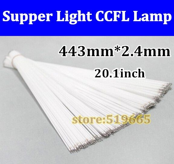 150pcs Universal Brand New 20.1 inch Backlight CCFL Lamps Highlight 443mm *2.4mm for LCD Monitor Free Shipping