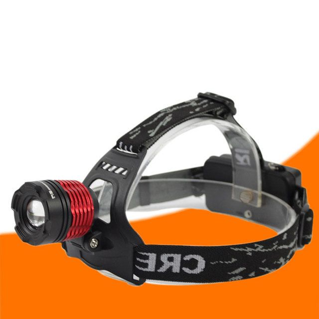 Portable Lighting Cree Headlamp Strong Light Rotate Zoom Rechargeable Hunting Camping and Fishing 250m Brightest LED Headlight