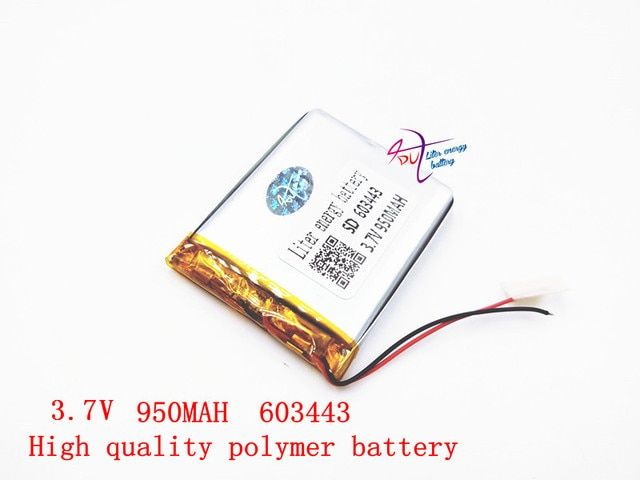 3.7V 603443 950MAH Original Battery brand batteries GPS navigation built- in lithium polymer battery