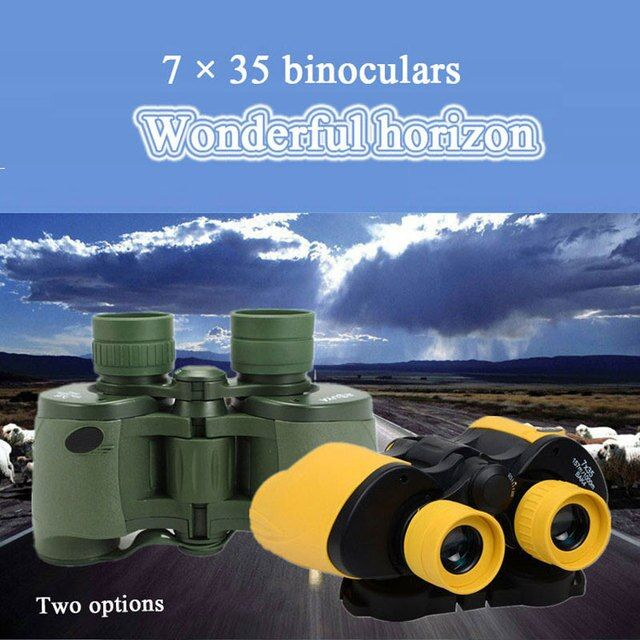 7X35 HD wide-angle Binoculars for travel hunting professional telescope high quality binoculars telescope Outdoor
