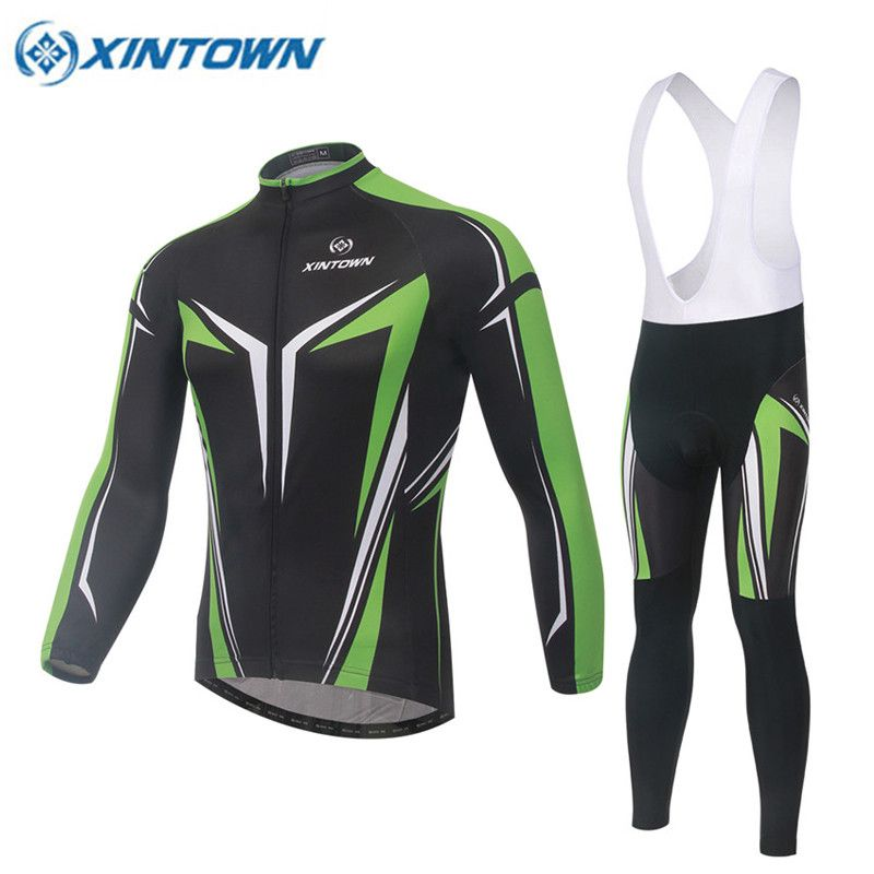 XINTWON Winter Thermal Fleece Cycling Jerseys Sportswear Ropa Ciclismo Warm Mountain Bike Cycling Clothing Cycle Sports Wear