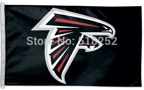 Atlanta Falcons Flag 3x5 FT  Banner 100D Polyester NFL flag 165, free shipping