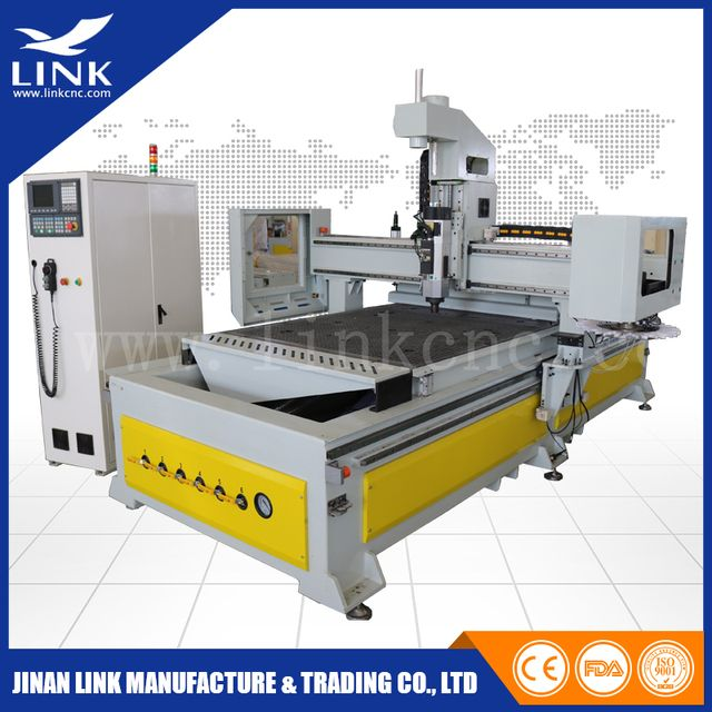 LINK wood cnc router 1325 with 3d laser scanner / auto tool changer cnc router / router cnc