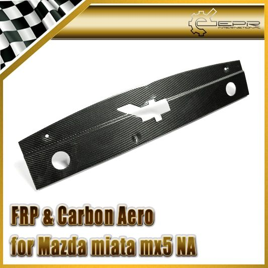Car-styling For Mazda MX5 Carbon Fiber NA Style Radiator Cooling Panel