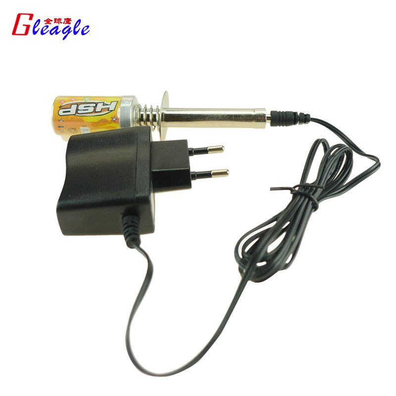 Gleagle HSP 80101 1800mAh Rechargeable Glow Plug Igniter Power Charger For Nitro RC Cars RC helicopter