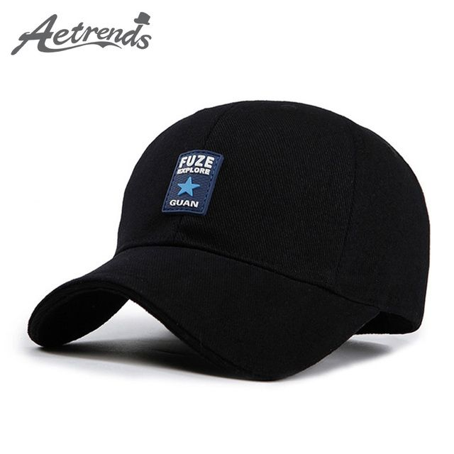 [AETRENDS]Men hat summer russia black trucker cap man mark hip hop baseball cap snapback hats outdoor sport bone aba reta Z-2647