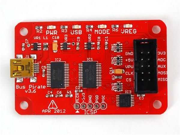 237 module development board Bus Pirate - BPv3.6 - v3.6   Bus Pirate - BPv3.6 - v3.6
