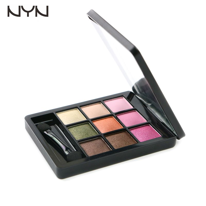 Professional 9 Color Eyeshadow Makeup Eye Shadow Palette,Super Flash Eyeshadow Kits High Quality by NYN