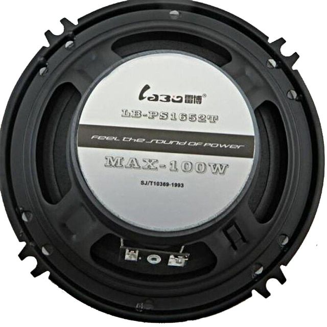 100W Coaxial Speakers 6.5 Inch Speakers For Cars Audio Speakers  Supporting Car Cd Dvd Sound Quality Vw Speakers