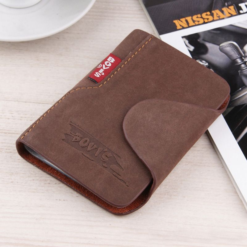 2016 genuine leather credit card holder business cards cover for a driver's license passport organizer bags