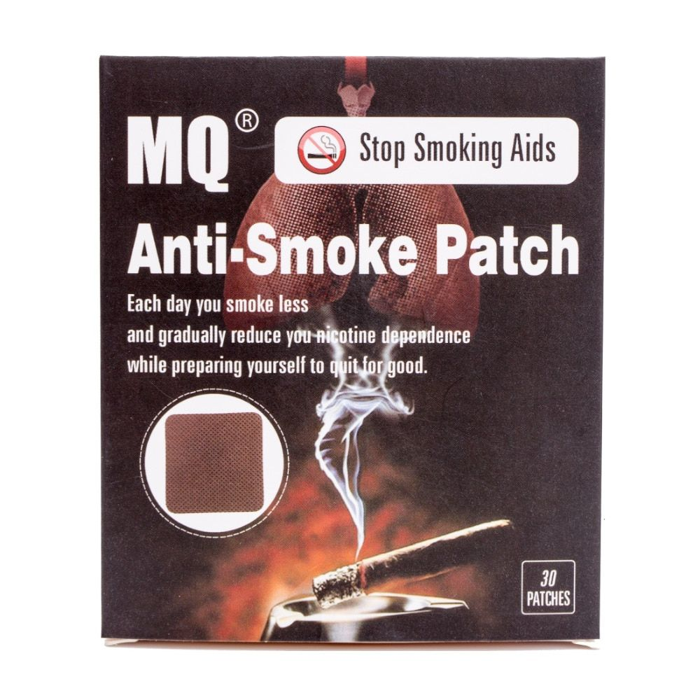 MQ Brand Anti Smoke Patch 30 Pieces/Box Smoking Cessation Pad 100% Natural Herbal Stop Smoke Patch Health Care Product