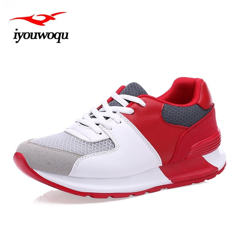 IYOUWOQU Running shoes for women Sneakers shoes 2017 New listing Summer Breathable Outdoor Sports Women trekking walking Shoes