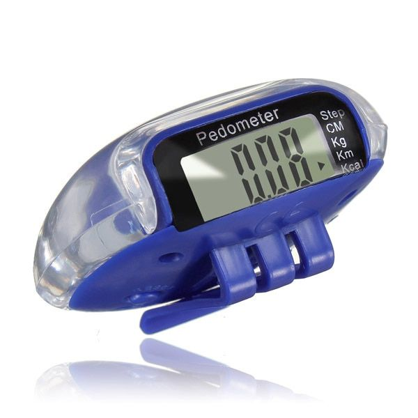 PROMOTION!LCD Digital Multi Pedometer Calorie Counter Run Fitness - Blue