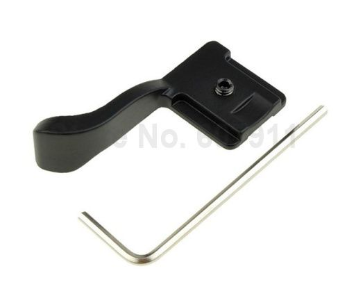 Hand Grip Thumb up Grip for Hot shoe Finger handle Buckle Fuji Fujifilm X10 X100 X-E1 X-M1 XE-1 XE1 & EP1 EP2 EP3 EPL1