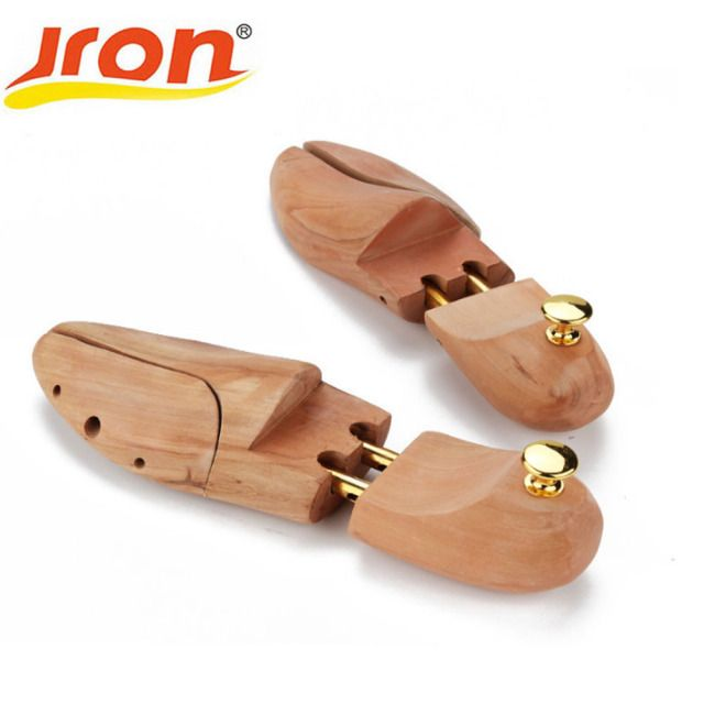 Wood Wooden 2-Way Shoe Shoes Tree women and man shoes tree Stretchers Size Wholesale