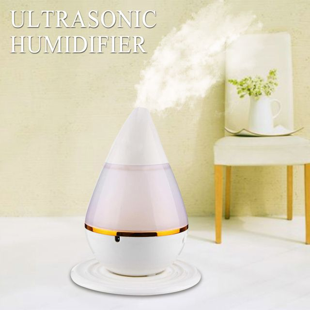 Colorful LED Night Light USB Ultrasonic Humidifier Mini Essential Oil Aroma Diffuser Home Office SPA Mist Maker Air Purifier