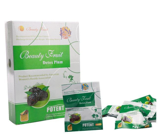 2015 New Arrival Slimming plum beauty fruit detox plum Weight loss detox plum 20 GRAINS PER BOX make you healthy and beauty