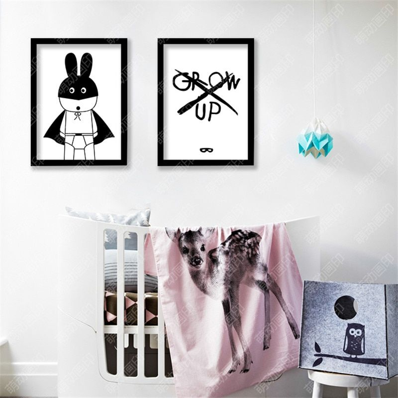 M14 Canvas Art Super Hero, No Bad Days Quotes Pop Art Oil Painting Numbers Picture Poster and Prints Wall Art Kids Room No Frame