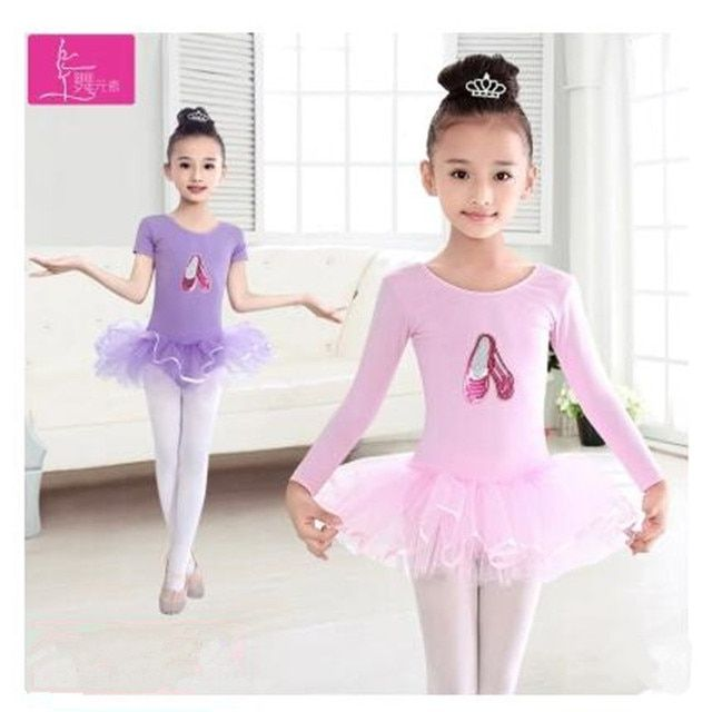 New Arrival Cheap Girl Ballet Dress For Children Girls Dance Clothing Girls Dancewear Gymnastics Leotard Tutu Ballerina Costumes