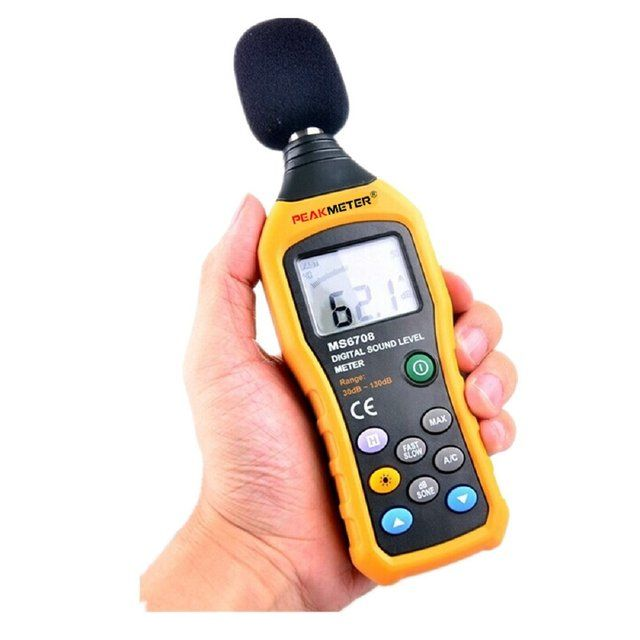 PEAKMETER MS6708 Digital Sound Level Meter Decibel