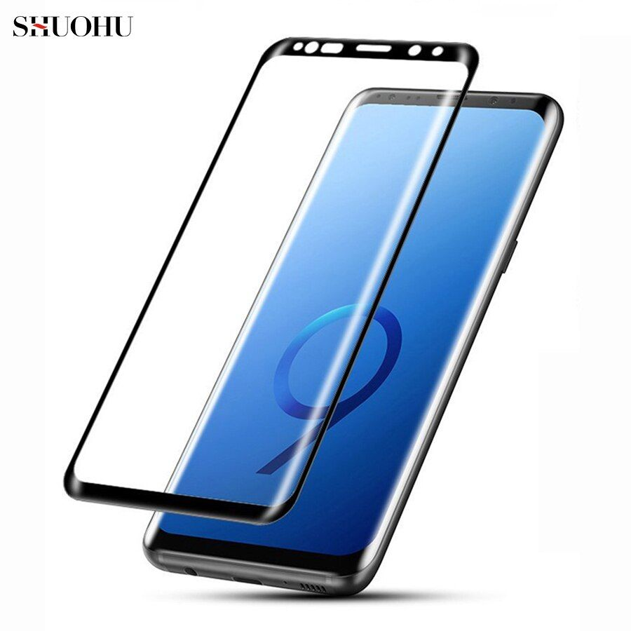 For Samsung Galaxy S8 S9 Plus Note 9 8 A6 A8 Plus 2018 3D 9H Full Cover Tempered Glass Screen Protector Film For Galaxy Note9