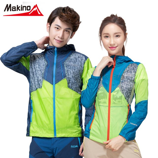 Makino Outdoor Hiking Quick-drying Skin Clothing Waterproof Soft Breathable Climb Jacket For Sport lover Camping Rain Hoodies
