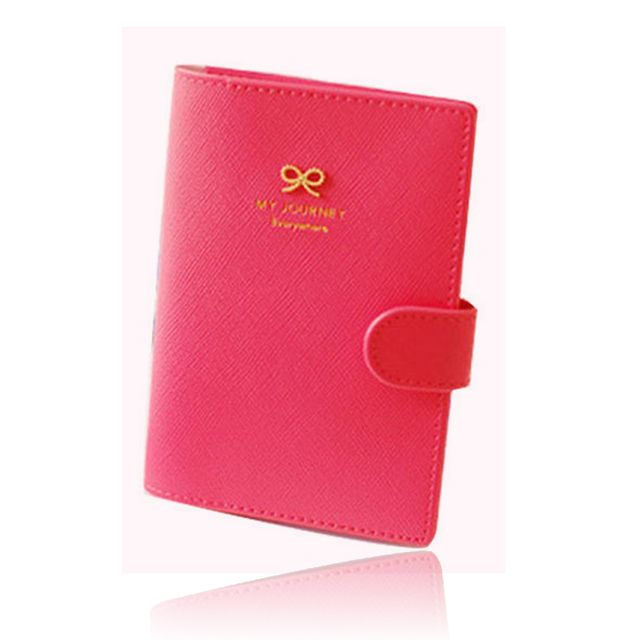 Men or women Travel Credit  Card fashion 5 colors clutch Wallets PU Leather Passport Cover  Women carteira feminina