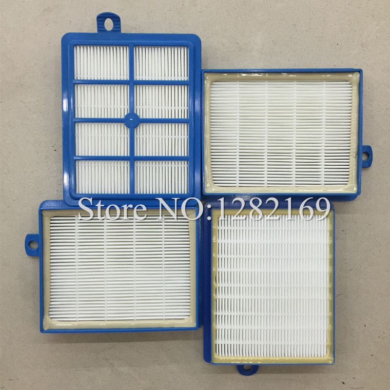 4 pieces/lot Vacuum Cleaner Parts Air Filter Hepa 13 Replacement for Philip S-filter FC9250 FC9300 FC9150 FC 8038/01