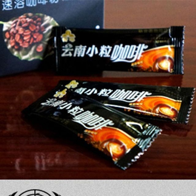 Yunnan Black coffee instant coffee powder Black in10 bags cheap price Black coffee