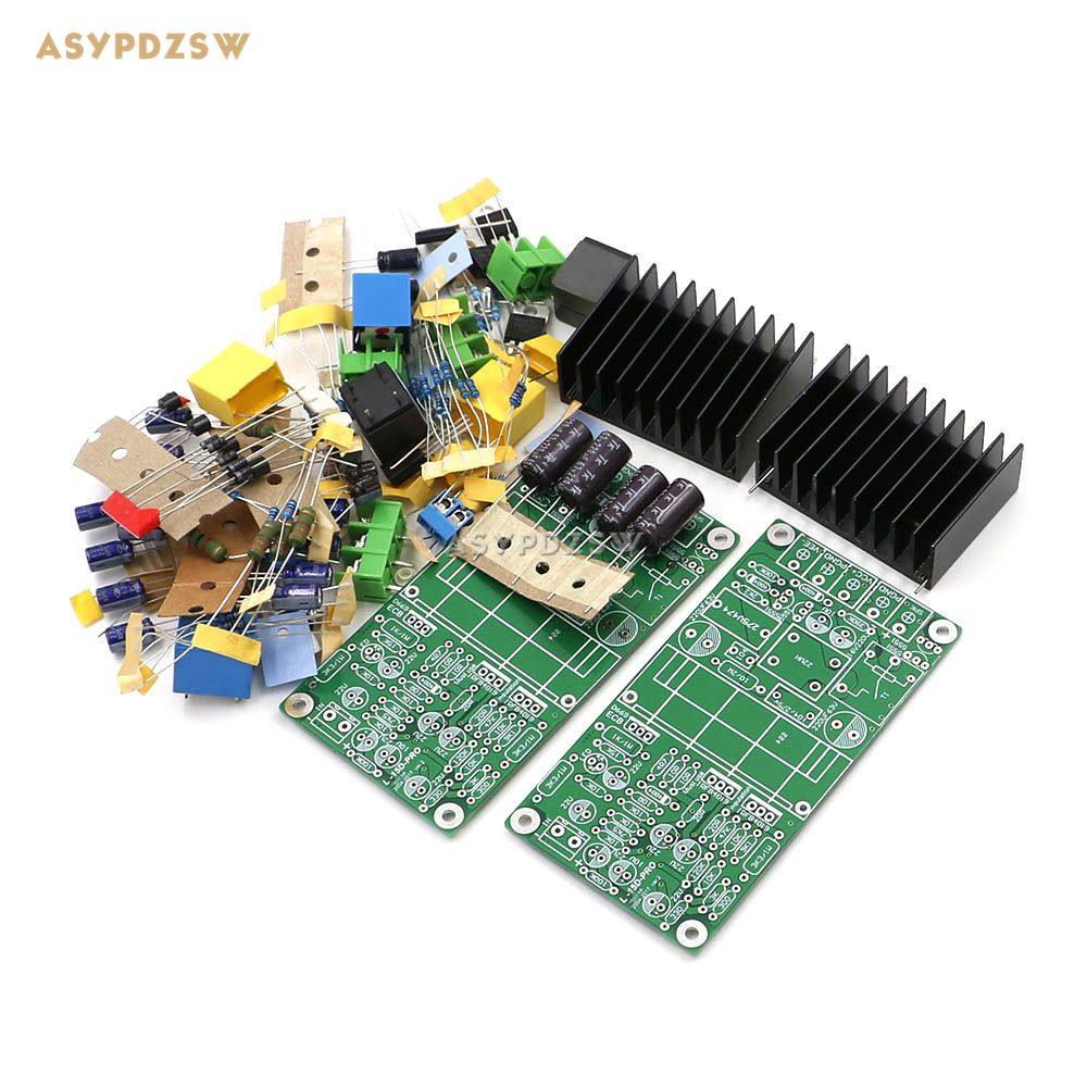 NEW Dual channel L15D-PRO Class D IRS2092 IRFB4019 Stero Power amplifier DIY Kit (2 boards) 300W