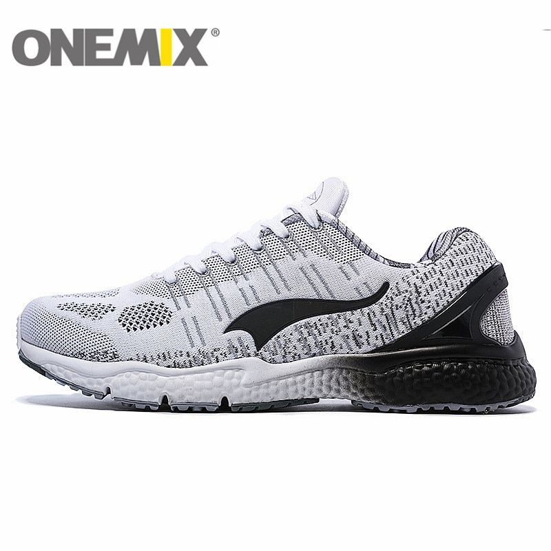 ONEMIX Breathable Mesh Running Shoes for Men Women 2016 Knit light Lady Trainers Walking Outdoor Sport Comfortable Sneakers