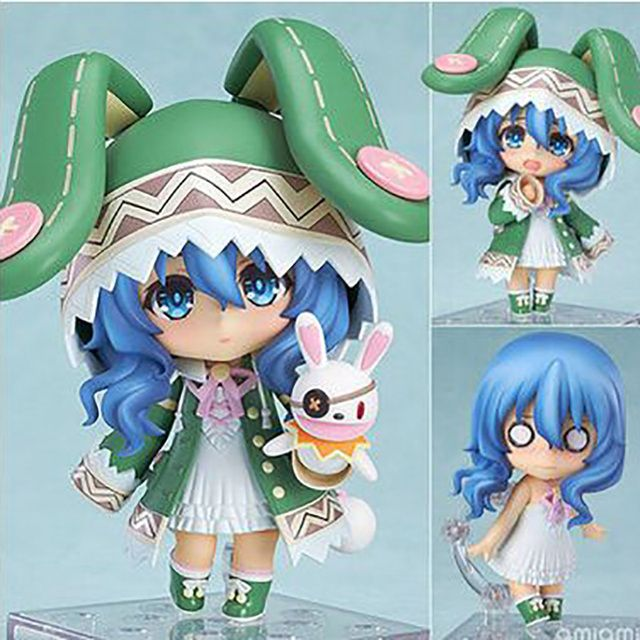 DATE A LIVE Hermit  ,Cute Toys 10cm Cartoon PVC Action Lovely Toy Action Figure For Children Birthday As Gift