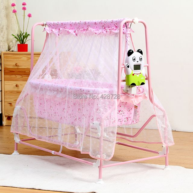 Berceau Baby Bassinet Sallei Baby Bed Electric Cradle For Intelligent Newborn Concentretor Band Mosquito Net Shook His Double