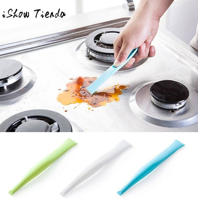 Kitchen Bathroom Stove Dirt Decontamination Scraper Opener
