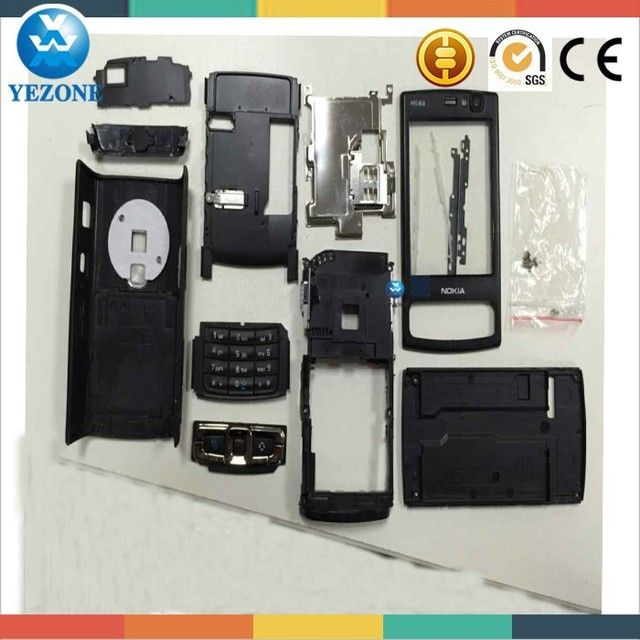 Brand New Full Housing Case +Keypads For Nokia N95 8GB Housing Cover Black Color +Free Tools Free Shipping