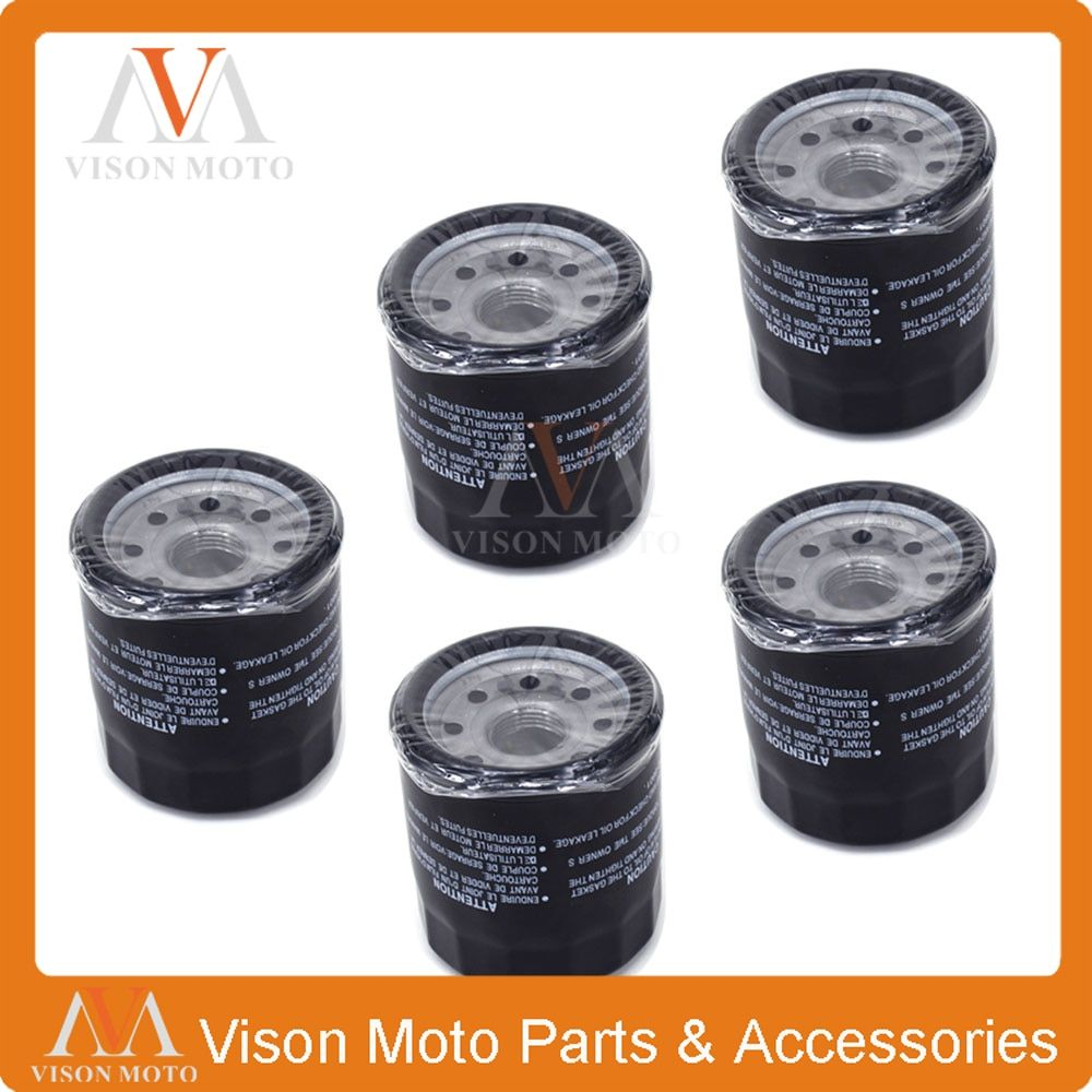5PCS Motorcycle Oil Filter Cleaner For YAMAHA XV1900 XV 1900 2011 2012 2013 2014 2015 2016 YZF-R3 YZF R3 YZFR3 MT-03 MT03 16