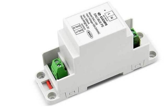 high quality New Product DALI-130 DALI Bus DIN Rail DALI Master Controller