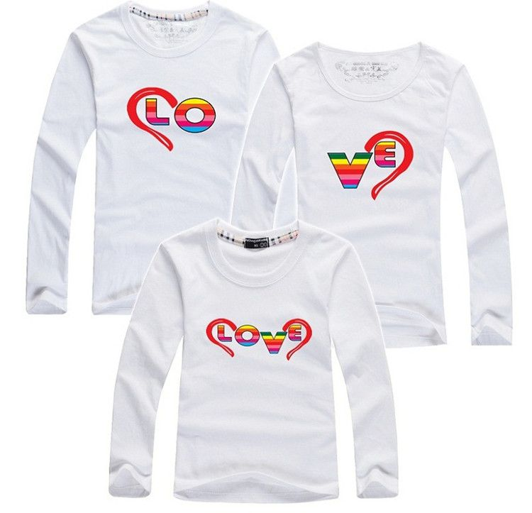2019 autumn family look clothing children men women t-shirts plus size matching mother father daughter son clothes 7 colors