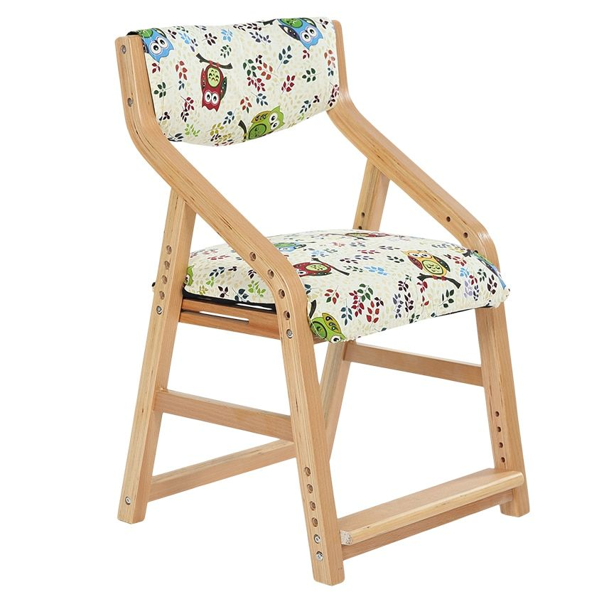 Children learning to write can lift student chair wood armchair washable Learning Chair Ruanmian