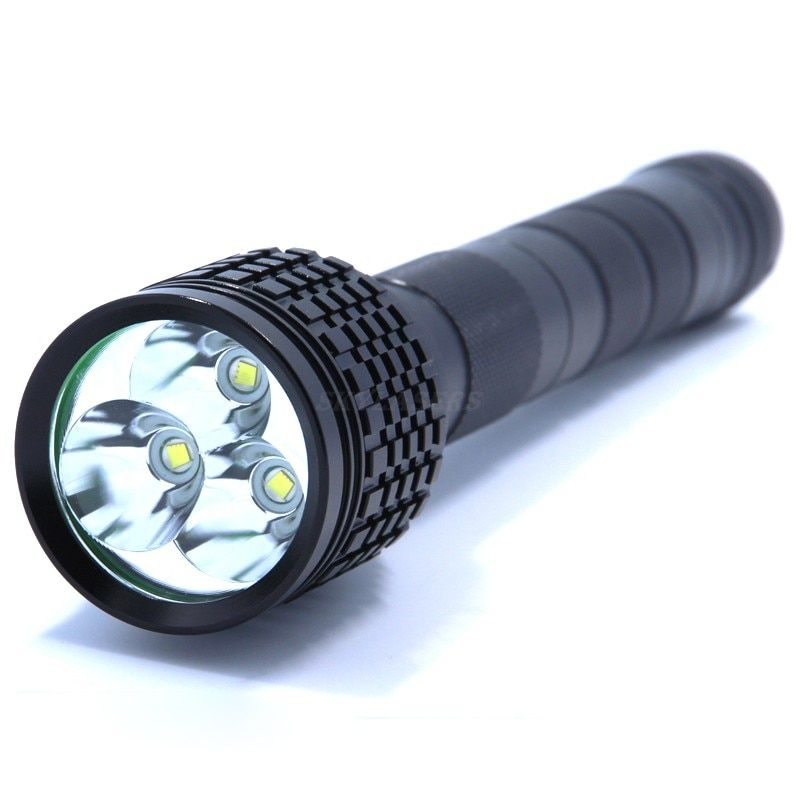 Hunting Flashlight 3 X  XML T6 LED 6000LM Flashlight 18650 Torch 3T6 LED Tactical Flash Light Lantern linternas