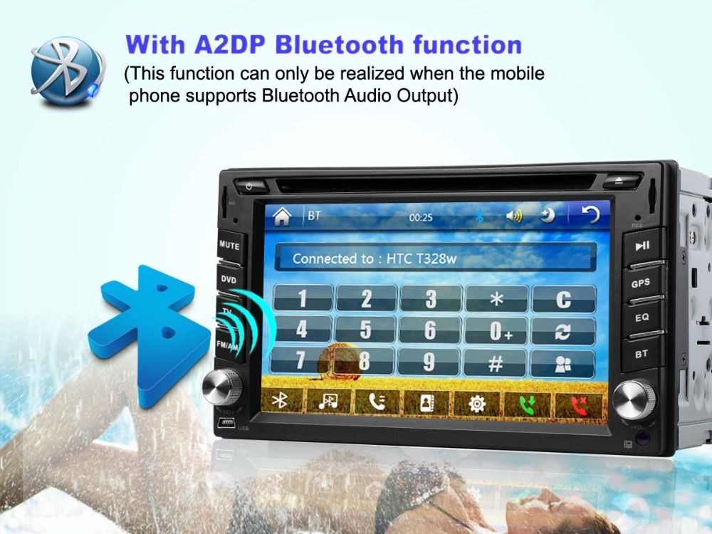 Universal Radio Double 2 din DVD GPS Navigation for Volkswagen VW MULTIVAN car DVD CD player GPS TV Bluetooth Radio+free 4g card