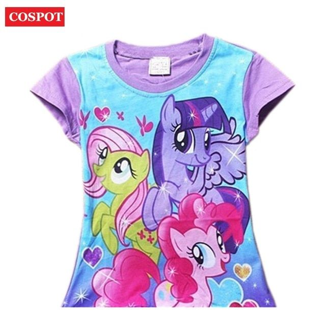 COSPOT Baby Girls Summer T Shirt Girl Cute Cotton T-Shirt Kids Tee Tops 2018 New Arrival 28D