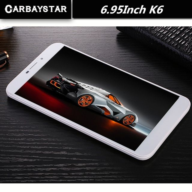 CARBAYSTAR  K6 4G LTE Call Phone Android smart Tablet pc Android 5.1 4GB RAM 32GB ROM WiFi GPS FM Octa core 6.95 inch Tablets Pc