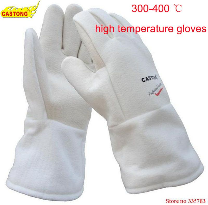 NFHH15-34 protective gloves 300-400 degree industrial heating gloves high temperature fire Gloves